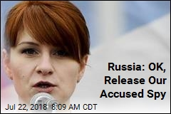 Russia: OK, Release Our Accused Spy