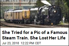 She Tried for a Pic of a Famous Steam Train. She Lost Her Life