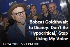 Bobcat Goldthwait to Disney: Don't Be 'Hypocritical,' Stop Using My Voice