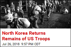 North Korea Returns Remains of US Troops