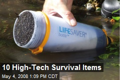 10 High-Tech Survival Items
