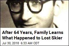 Body of Lost Skier Identified After 64 Years