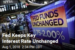 Fed Keeps Key Interest Rate Unchanged