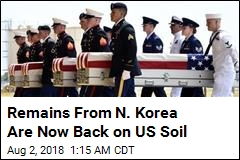Identification Work Begins on Returned Korean War Remains