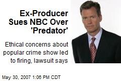 Ex-Producer Sues NBC Over 'Predator'