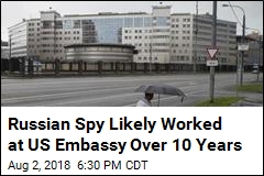 Suspected Russian Spy Worked in US Embassy Over a Decade