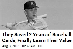 They Saved 2 Years of Baseball Cards, Finally Learn Their Value