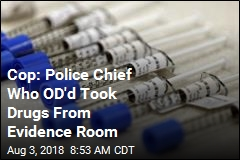 Cops: Police Chief Who OD'd Took Drugs From Department