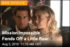 Christopher Robin Tries to Oust Tom Cruise