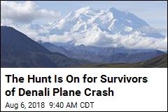 Rescuers Scour Denali for Plane Crash Survivors