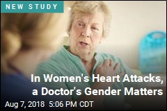 Women Having Heart Attacks Do Better With Female Doctors