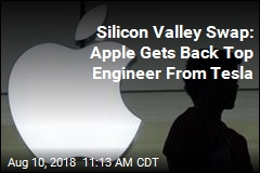 Silicon Valley Swap: Apple Gets Back Top Engineer From Tesla