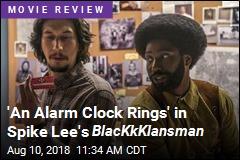 'An Alarm Clock Rings' in Spike Lee's BlacKkKlansman