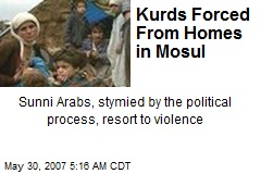 Kurds Forced From Homes in Mosul