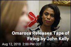 Omarosa Says She Secretly Taped White House Firing