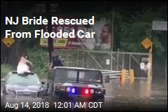 NJ Cops Rescue Bride, Groom From Flooded Car