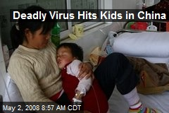 Deadly Virus Hits Kids in China