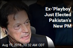 Pakistan's New Leader Once a Playboy Cricket Star