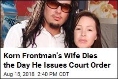 Wife of Korn Lead Singer Jonathan Davis Dead at 39