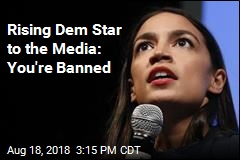 Rising Democratic Star Bans All Media From 2 Events