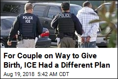 En Route to Give Birth, ICE Detained Her Husband