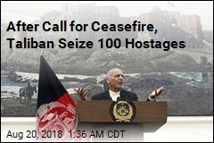 After Call for Ceasefire, Taliban Seize 100 Hostages