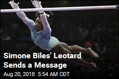 Simone Biles Breaks a Record While Sending a Message