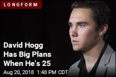 David Hogg Has a 7-Year Mission