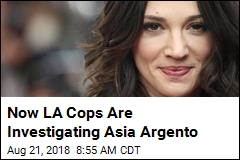 LA Cops Dive Into Asia Argento Sex Assault Allegations