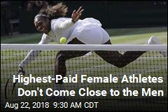 Highest-Paid Female Athletes Don't Come Close to the Men