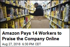 14 Amazon Workers Are Paid to Combat Negative Tweets