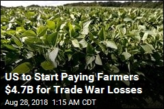 US to Start Paying Farmers $4.7B for Trade War Losses