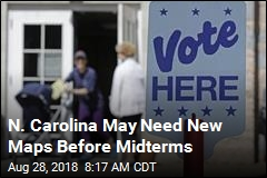 N. Carolina May Need New Maps Before Midterms