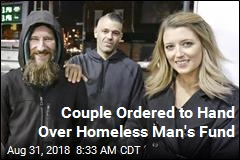 Couple Ordered to Hand Over Homeless Man's Fund
