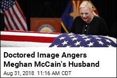 Doctored Image Angers Meghan McCain's Husband