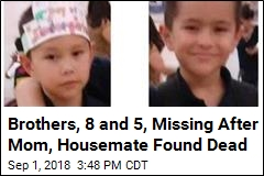 Their Mom Was Found Dead. Now 2 Brothers Are Missing