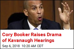Cory Booker: I'm Breaking Senate Rules on Kavanaugh