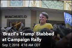 'Brazil's Trump' Stabbed at Campaign Rally