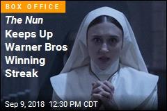 The Nun Scares Off Crazy Rich Asians