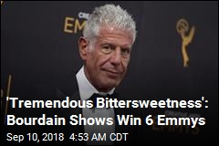 Bourdain Scores 6 Posthumous Emmys