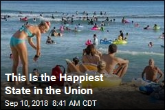 10 Happiest, and Least Happiest States
