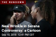 New Wrinkle in Serena Controversy: a Cartoon
