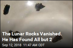 Moon Rock Hunter Is Down to His Last 2 Missing Stones
