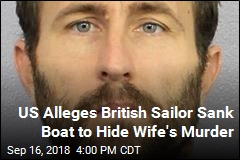 Sailor Sank Boat to Hide Wife's Murder, Officials Say