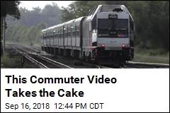 Careless Whiskers: Commuter Caught Shaving on Train