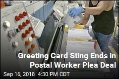 Postal Worker Stole Over 6,000 Greeting Cards for The Cash