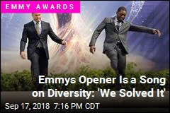 Emmys Opens With Song on Diversity: 'We Solved It'