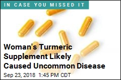 Woman's Liver Disease Likely Caused by Turmeric Supplement