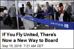 If You Fly United, There's Now a New Way to Board