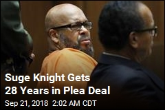 Suge Knight Gets 28 Years in Plea Deal